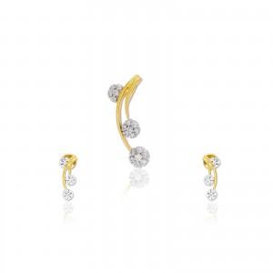 Prabha Bridal diamonds Necklace Set