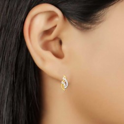 Pavika Fancy Design diamond Earrings