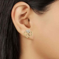 Kuhu Fancy Design Diamond Earrings