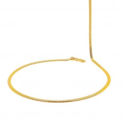 Plain Gold Daily Wear Chain