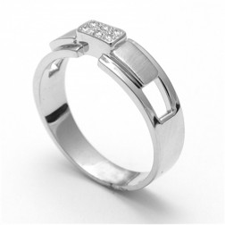 Pranay Platinum Ring For Him